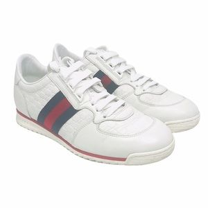 Gucci Microguccisima Leather Sneakers